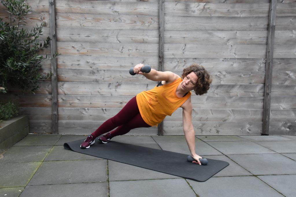 Pilates Zijplank